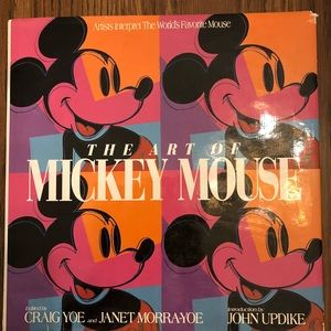 The Art of Mickey Mouse Book
